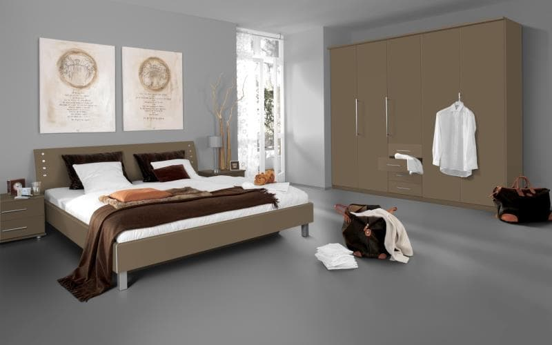 Saturn Gloss Cappucino Bedroom