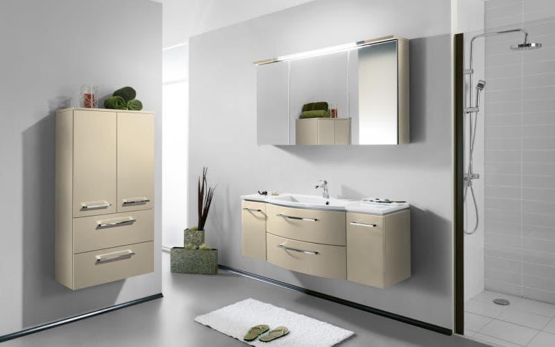 Saturn Gloss Cream Bathroom