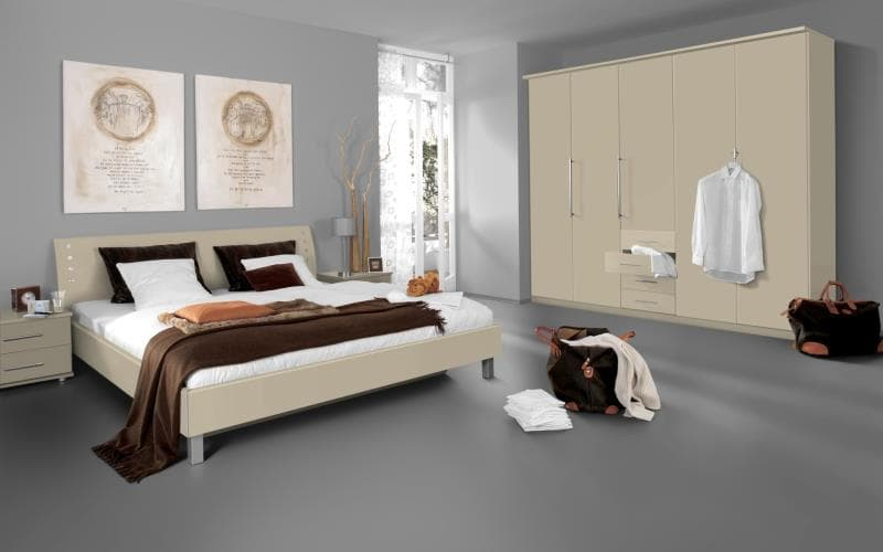 Saturn Gloss Cream Bedroom