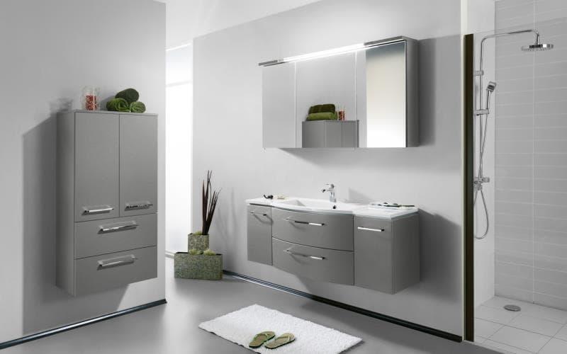 Saturn Gloss Silver Bathroom
