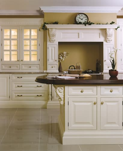 Solid Wood In Frame Tulipwood Lennymore Ivory