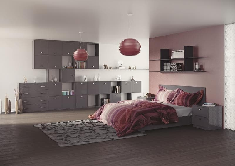 Sorrento Acrylic Anthracite Roomset