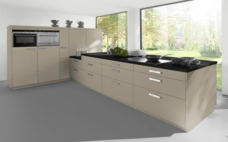 Sorrento Gloss Dakar Kitchen