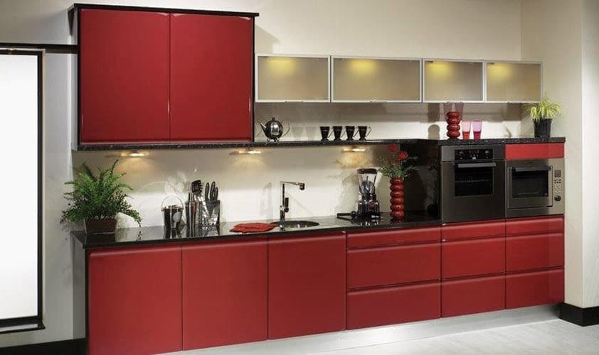 Treviso Gloss Red