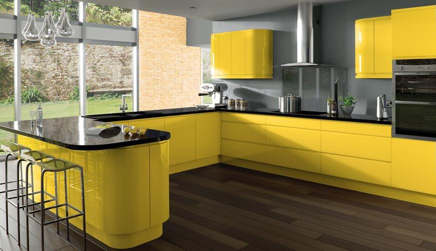 Treviso Gloss Yellow