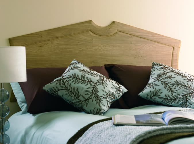Elite Made To Measure Winchester Oak Headboard