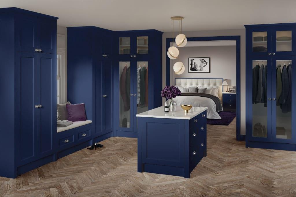 5Piece bastille marine blue bedroom2