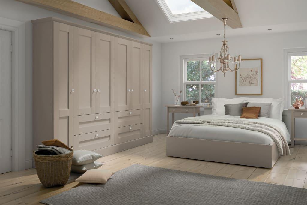 5Piece fenwick bedroom taupe