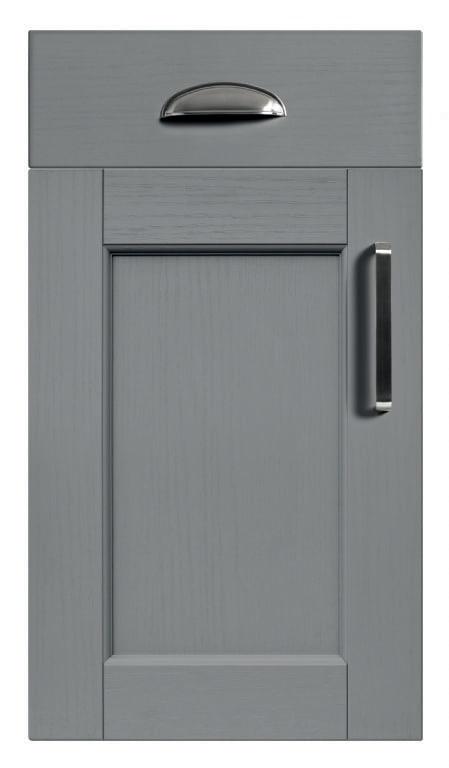 5Piece bastille dust grey kitchen door