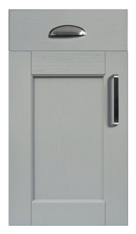 5Piece bastille light grey kitchen door