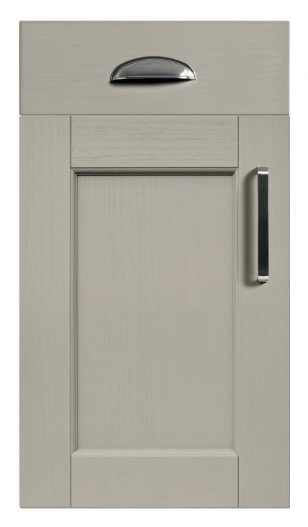 5Piece bastille taupe kitchen door