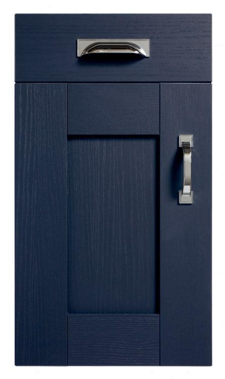 5Piece fenwick marine blue kitchen door