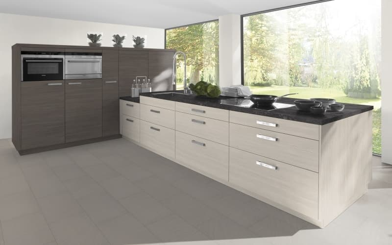 Economique Matt White Avola Brown And Grey Avola