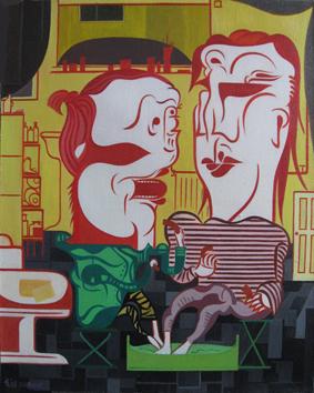 Mao Guo - love, 40 x 50 cm, 2008