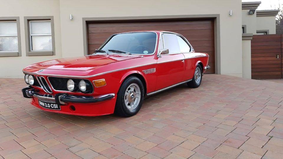 For sale 1971 BMW E9 3.0 CSi