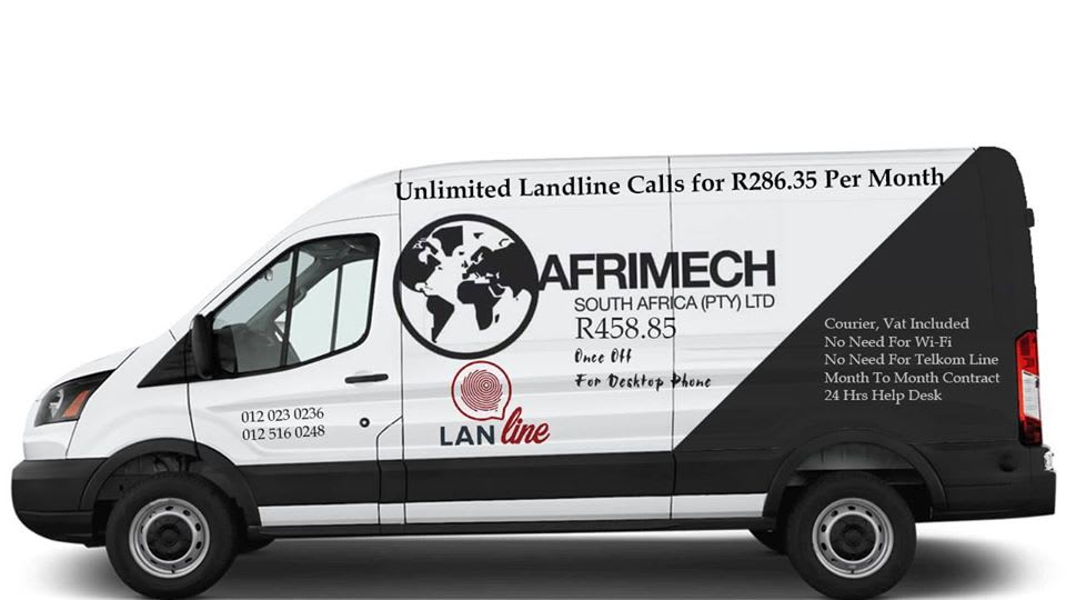 Afrimech Telecoms Cheapest Landline deal in South Africa