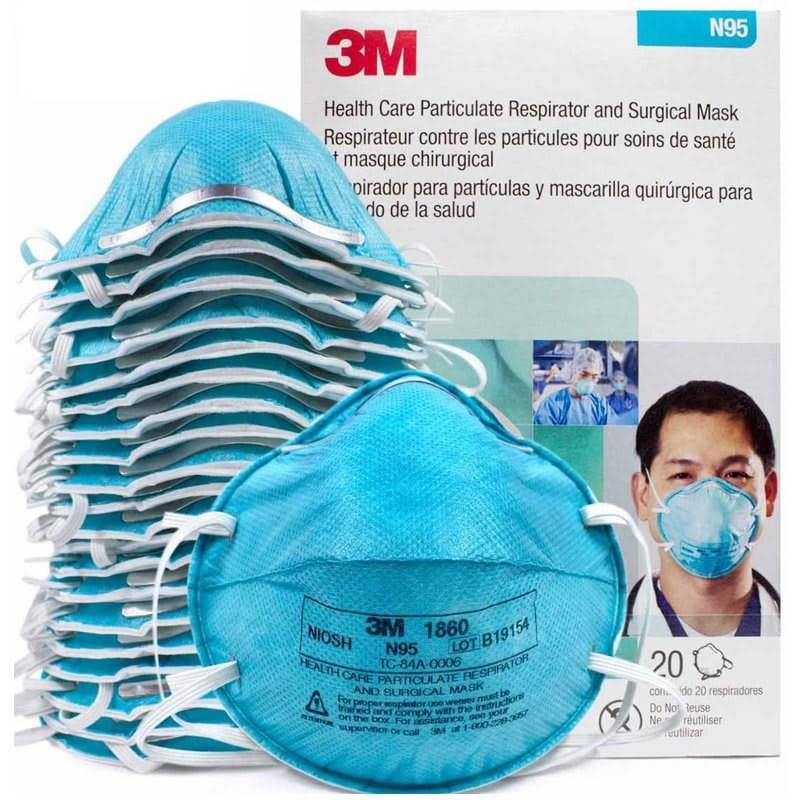 3M – N95 Respirator Masks – Safety Equipment