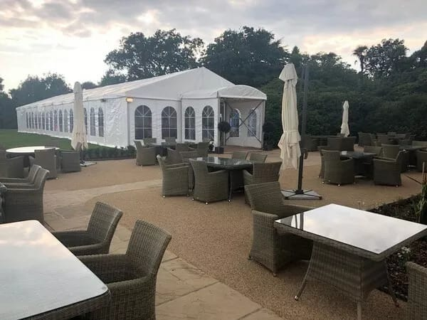 New Large Marquees for over 250 people