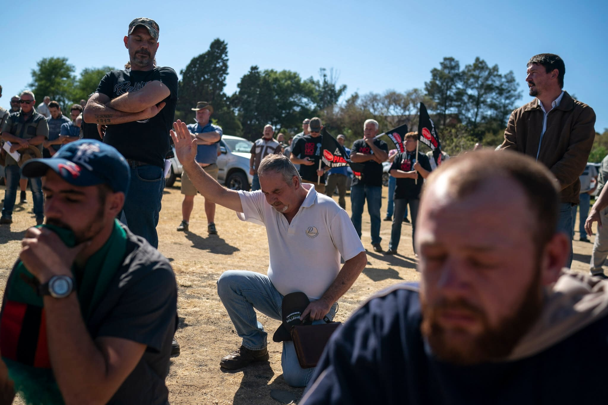 Killing of White Farmer Becomes a Flash Point in S.Africa