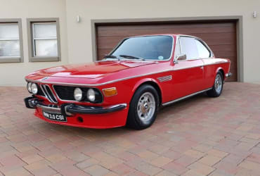 For sale 1971 BMW E9 3.0 CSi