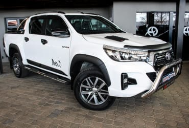 USED CAR 2017 TOYOTA HILUX 2.4 GD6 SRX
