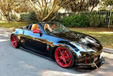 Convertible 350Z  Car Hire