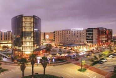 Matrix boasts location at the Century City Urban Square
