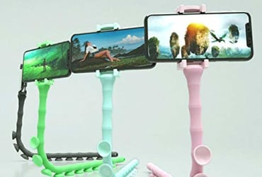 Cute Worm Lazy Mobile Phone Bracket Multi-Functional