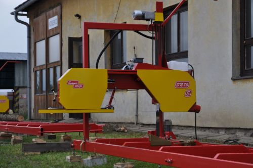 Log band saws SN 75 (85)