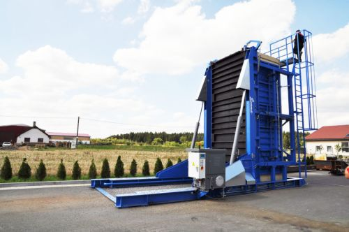 Container loader 0-90° (RECLINER) 20 FT