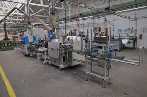 CNC-Linie zur Bearbeitung von Holzskikernen