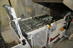 Einlegen und Lagerung des Materials