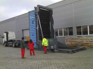 Containerlader 0-90 ° 20 FT