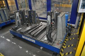 Solutions for material flow at automatic press lines