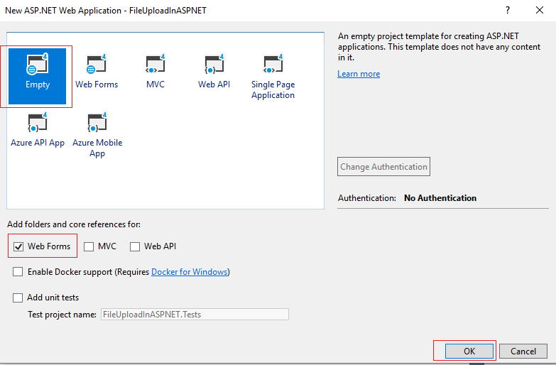 File Upload in ASP.NET (Web-Forms Upload control example)