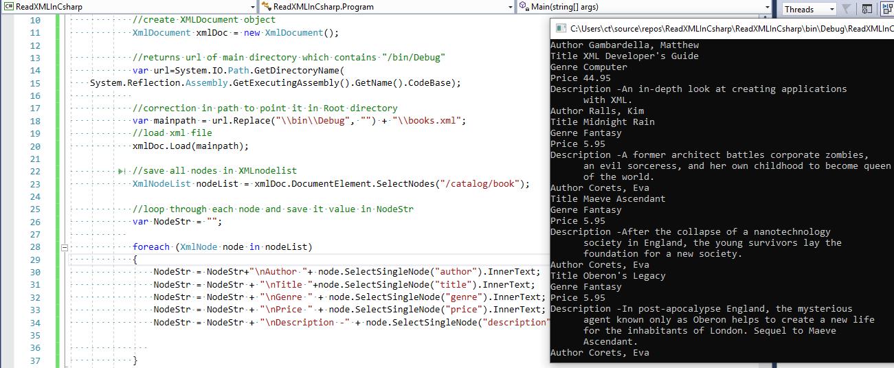 Open and Read XML in C# (Examples using Linq, XMLReader, XMLDocument)