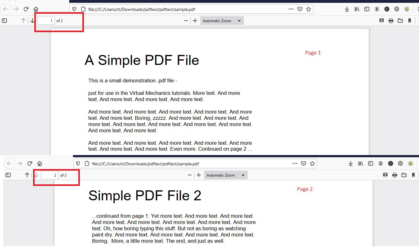 Read PDF file using Javascript