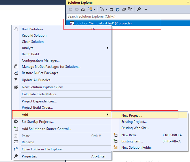 Understanding Unit testing in C# With Example