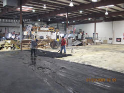 Frank's Blacktop & Sealcoating - race track contruction