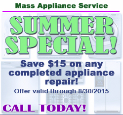 Mass Appliance Service - Summer Special