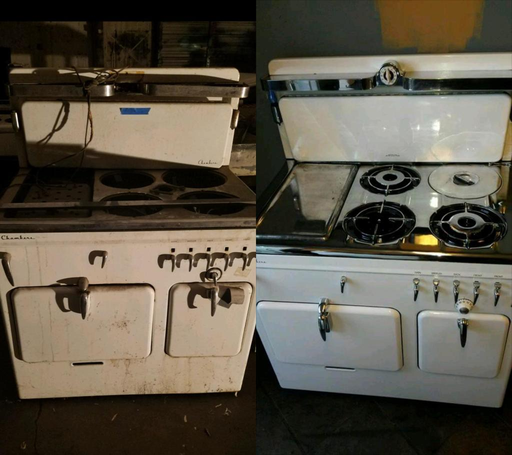 Appliance Repair Stove Restoration Refrigerator Restoration Chambers Stove Restoration Dallas Tx Classic Appliance Restoration Specialists 972 525 0537