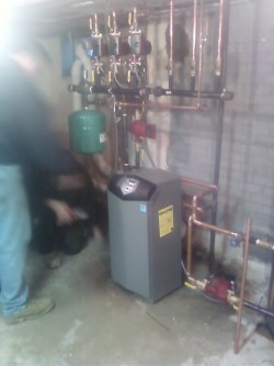 Affordable Heating and Air Conditioning - Professionally installed furnace in a home