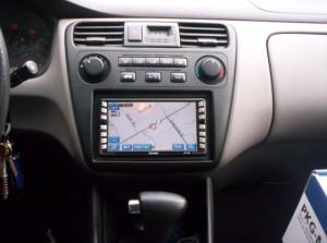 Dashboard GPS System