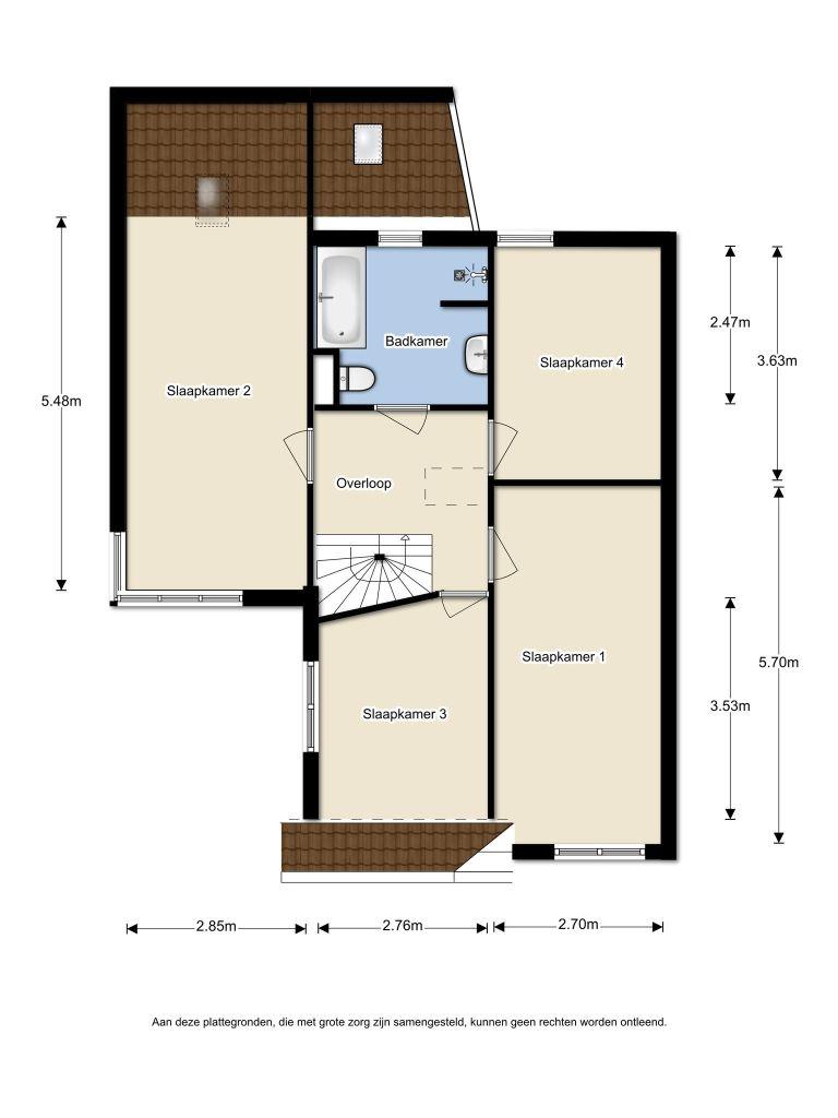Menuetstraat 41 – Almere – Plattegrond 2