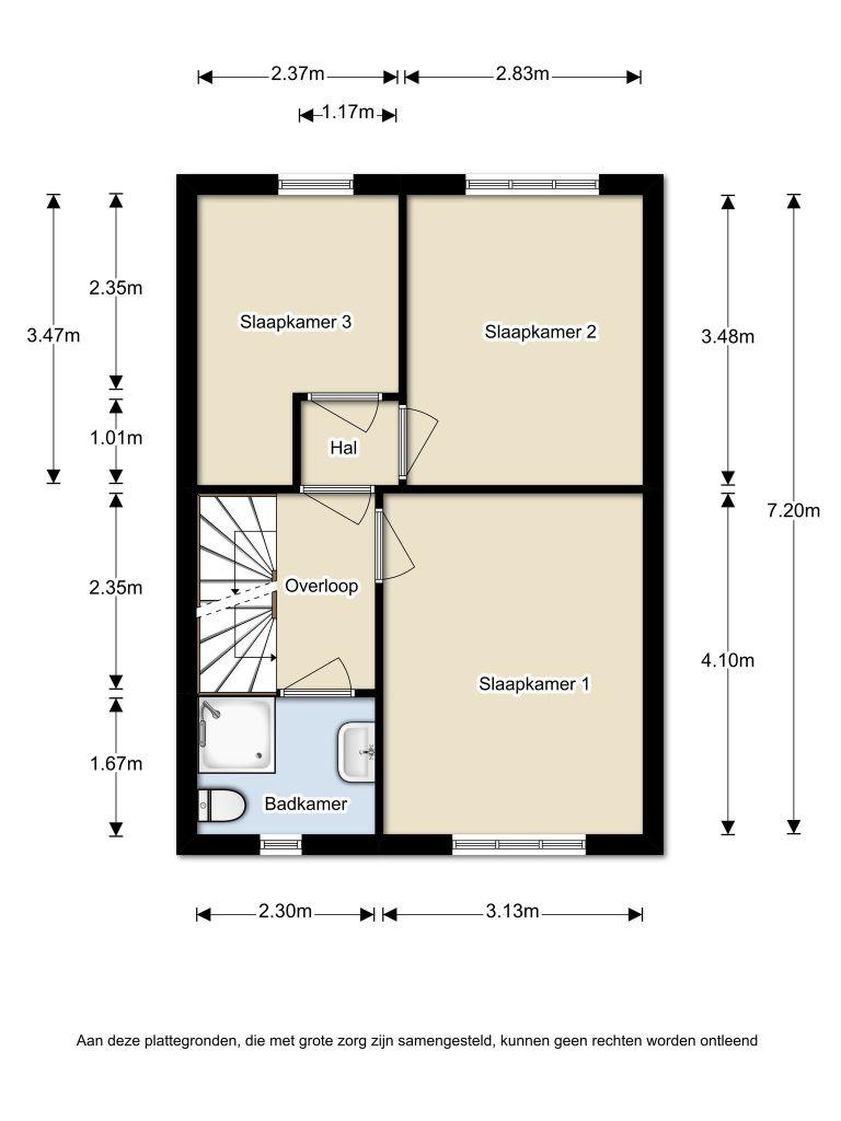 W. Schermerhornpad 20 – Almere – Plattegrond 2