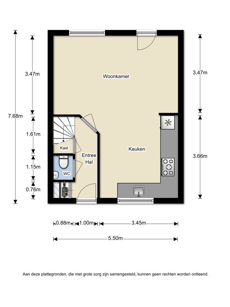 W. Schermerhornpad 20 – Almere – Plattegrond