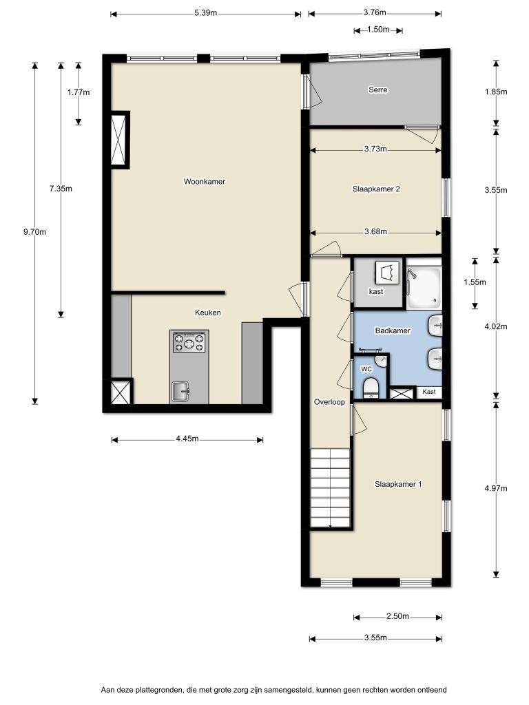 Renoirstraat 198 – Almere – Plattegrond 2