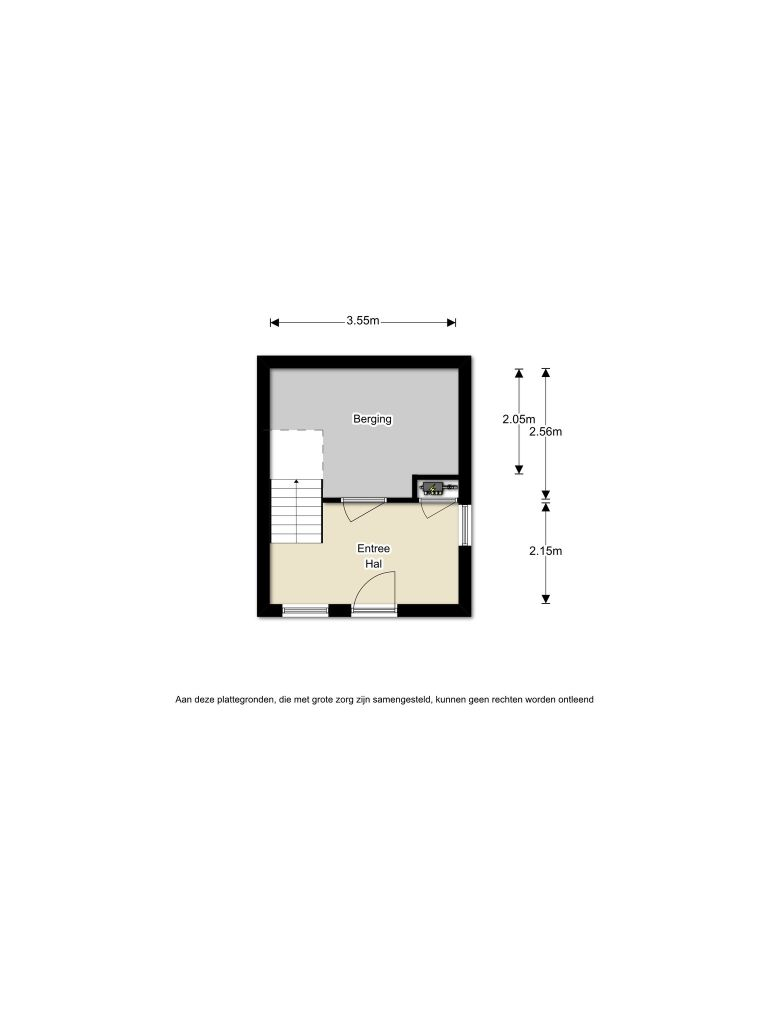 Renoirstraat 198 – Almere – Plattegrond