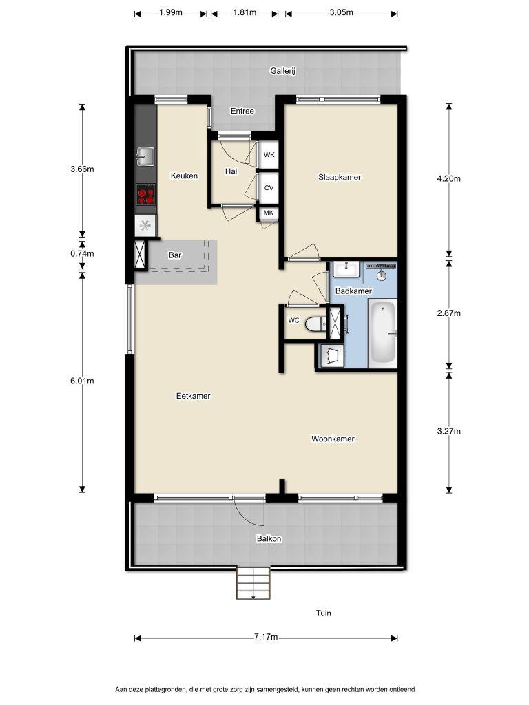 Maastrichtkwartier 163 – Almere – Plattegrond 2
