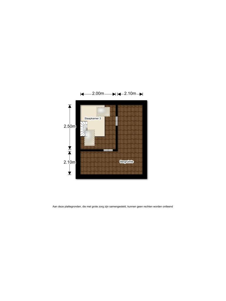 Schonbergweg 83 – Almere – Plattegrond 3